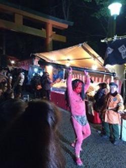 吉田神社の節分祭に行ってきました