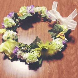 花冠*。・